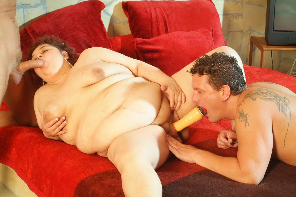 BBW Gaborne Threesome